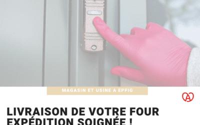 Expédition de votre four possible en France !