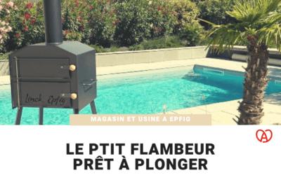 """Notre four """"le Ptit Flambeur"""" prêt à plonger"""